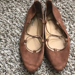 Brown Lucky shoes